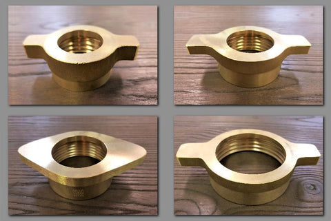 Stattin Stainless Brass Wine Wing Nuts