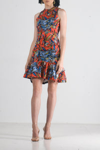 """Fey"" floral mini dress"