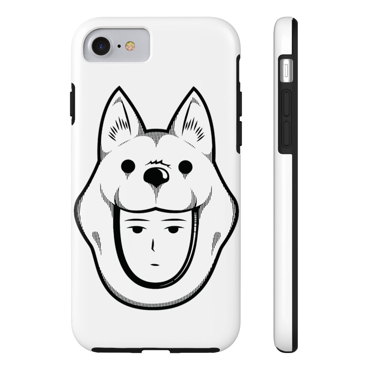 Watchdog Man S-Class Rank 12 Hero One Punch Man Inspired Case-Mate Tough  Phone Cases for Iphone