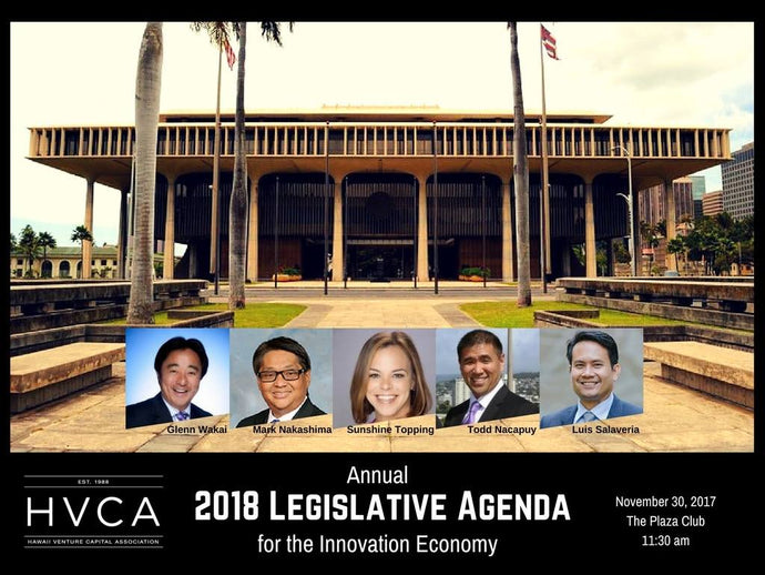 Luncheon Recap: 2018 Legislative Agenda for the Innovation Economy