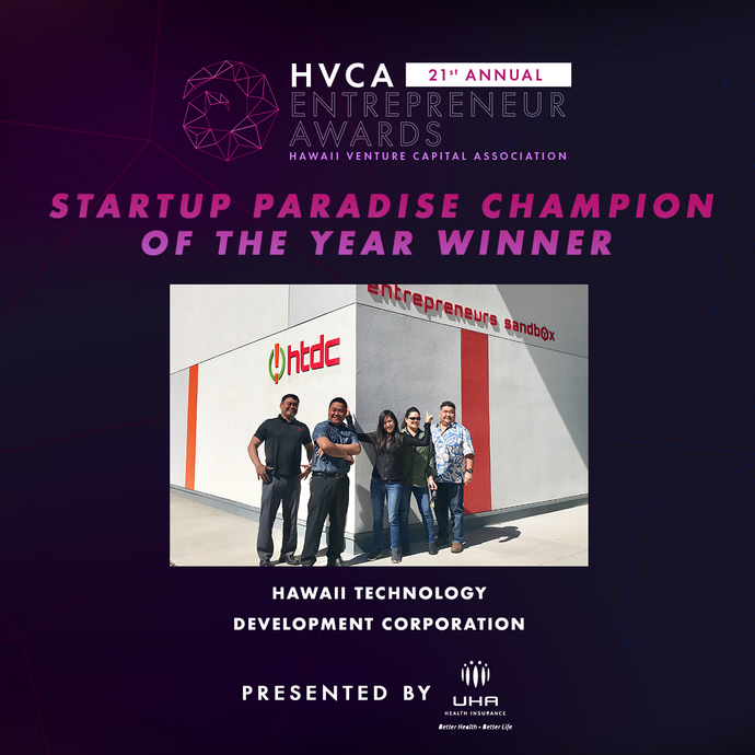 Startup Paradise Champion of the Year - Winner