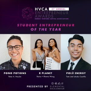 Student Entrepreneur of the Year - Finalists