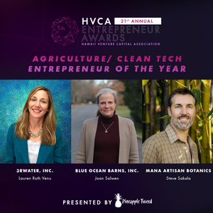 Agriculture / Clean Tech Entrepreneur of the Year - Finalists