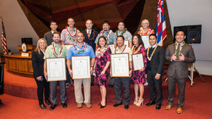 2015  HVCA Winners Recognized at the State Capitol