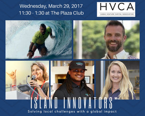 Luncheon Recap: Island Innovators - Solving Local Challenges With a Global Impact