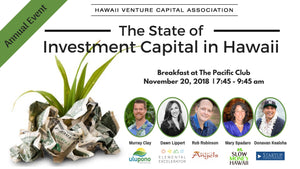 Event Recap: The State of Investment Capital in Hawaii