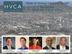 Luncheon Recap: State of Venture Capital in Hawaii