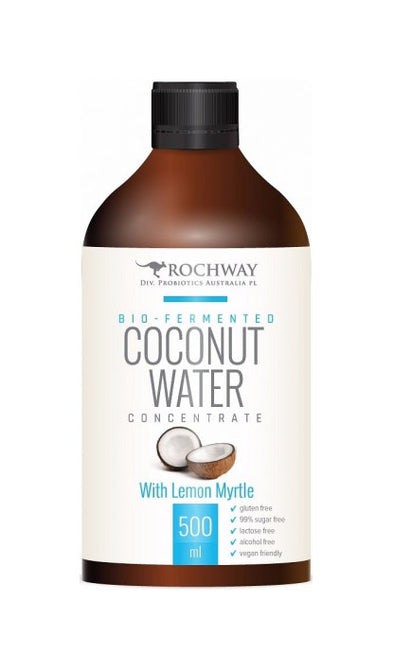 Rochway Biofermented Coconut Water with Lemon Myrtle