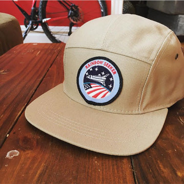 Rainbow Seeker 5 Panel Hat