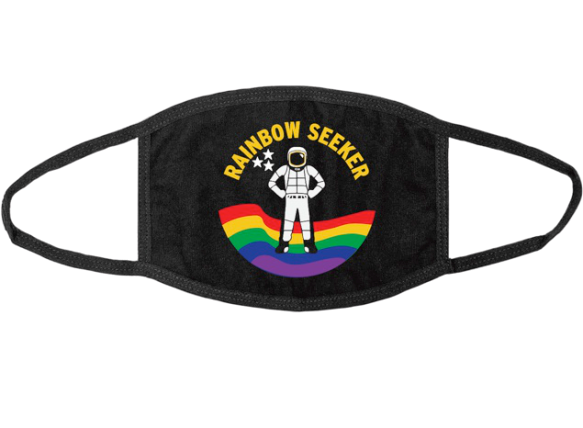 Rainbow Seeker Mask