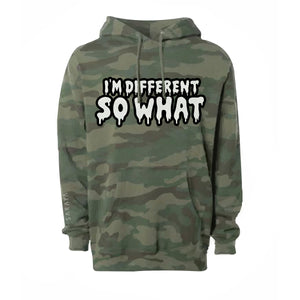 I'm Different // Camo Hoodie
