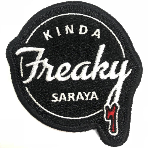 Kinda Freaky // Embroidered Patch