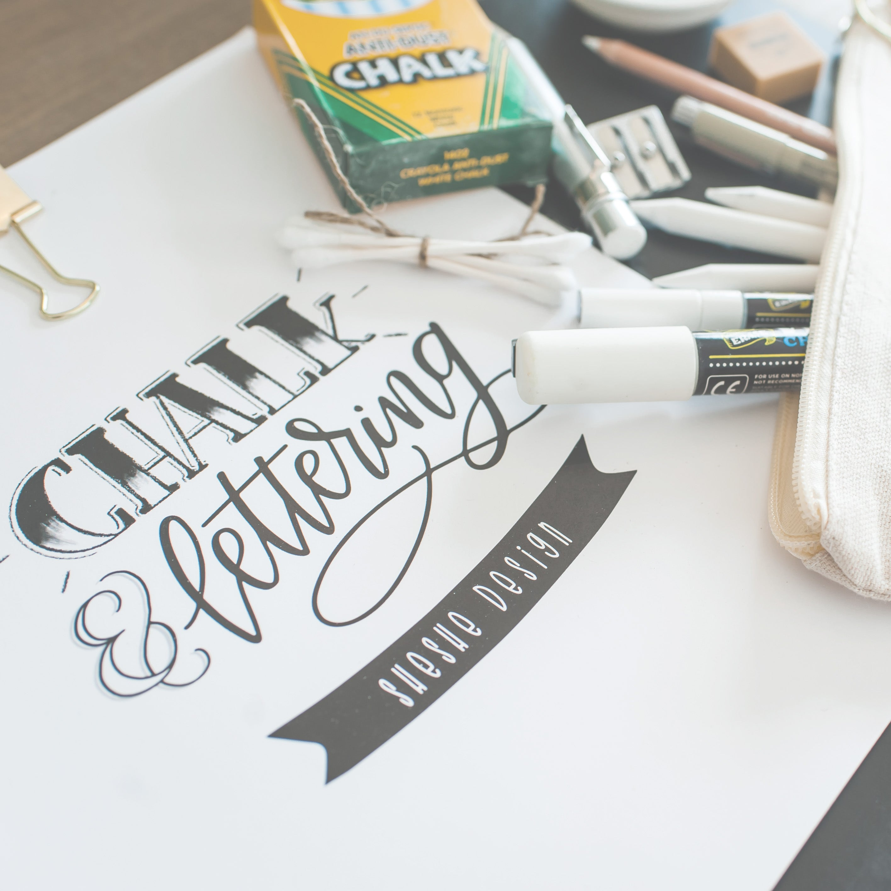 THE CHALK + LETTERING BOOK (DIGITAL DOWNLOAD)