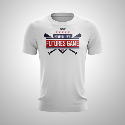 OFFICIAL 518 FUTURES GAME HOME PLATE TEE