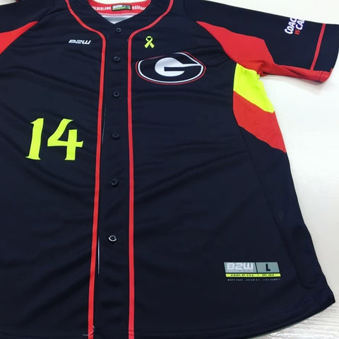 B2W ELITE FULL BUTTON SUBLIMATED JERSEY