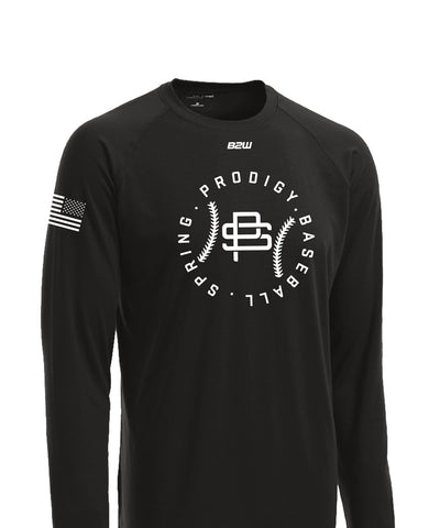 2019 B2W SPRING PRODIGY LONG SLEEVE FAN TEE