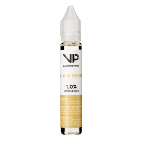 Milk N' Honey 1.0% Nicotine Salt 30ml