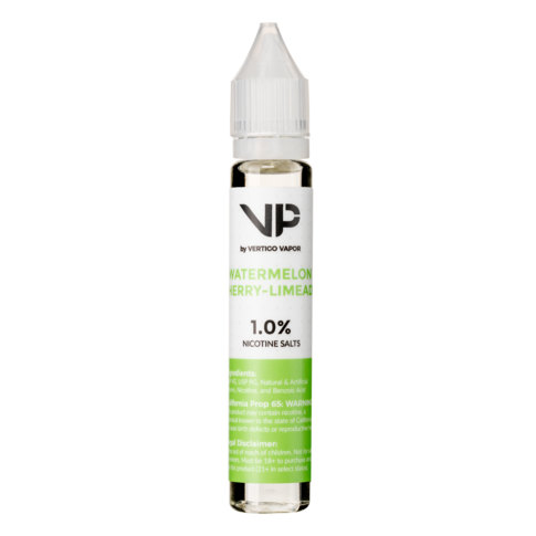 Watermelon Cherry Limeade 1.0% Nicotine Salts 30ml