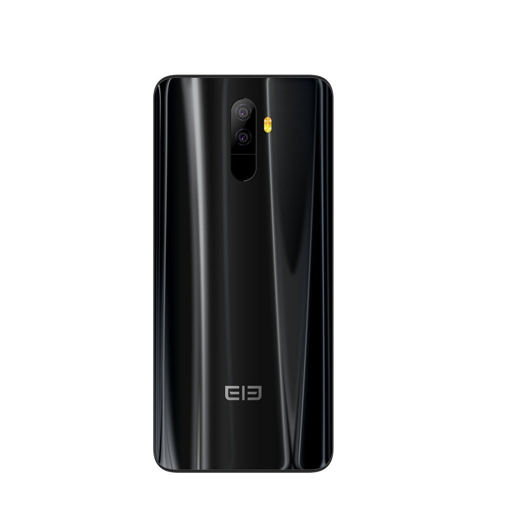 Elephone U Mobile Phone - 6GB RAM 128GB ROM, 3620mAh, 5.99 inch, Android 7.1, MT6763 Octa Core, 13MP Dual Rear Cameras - Black Android Phones Elephone U