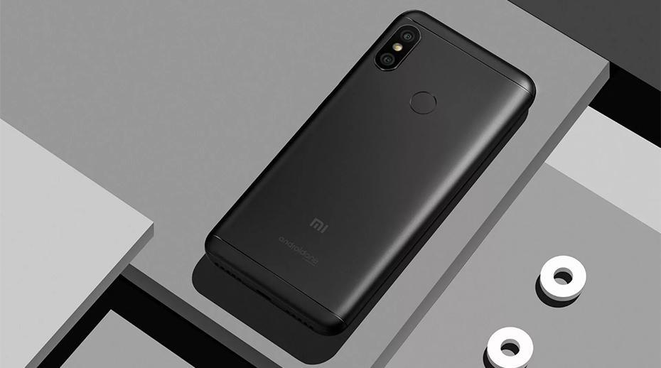 Global Version Xiaomi Mi A2 Lite 4GB RAM 64GB ROM 5.84 Inch Snapdragon 625 Unlock Cellphon Black Android Phones Xiaomi Mi