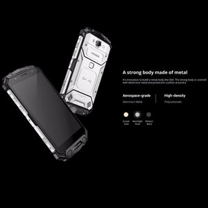 HK Warehouse Doogee S60 Android Phone - Octa-Core, Android 7.0, 6GB RAM, QI Wireless Charging, 1080p, 21MP Cam (Silver) Android Phones Doogee S60