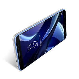 HOMTOM S16 Fingerprint 2GB RAM+16GB ROM Dual SIM Standby Android 7.0 Smartphone Blue Android Phones HOMTOM S16