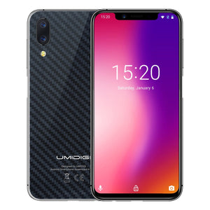Umidigi ONE 5.9 Full Screen Helio P23 Octa Core Android 8.1 Fast Charging Smartphone (Carbon Black) Android Phones Umidigi ONE