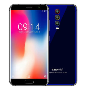 Vkworld K1 Smartphone - EU Standard, 5.2 Inch Screen, MTK6750T Octa Core, Android 8.1, 4040mAh, 4GB RAM, 64GB ROM - Blue Android Phones Vkworld K1