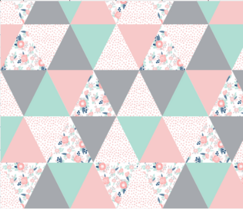 Floral Triangles