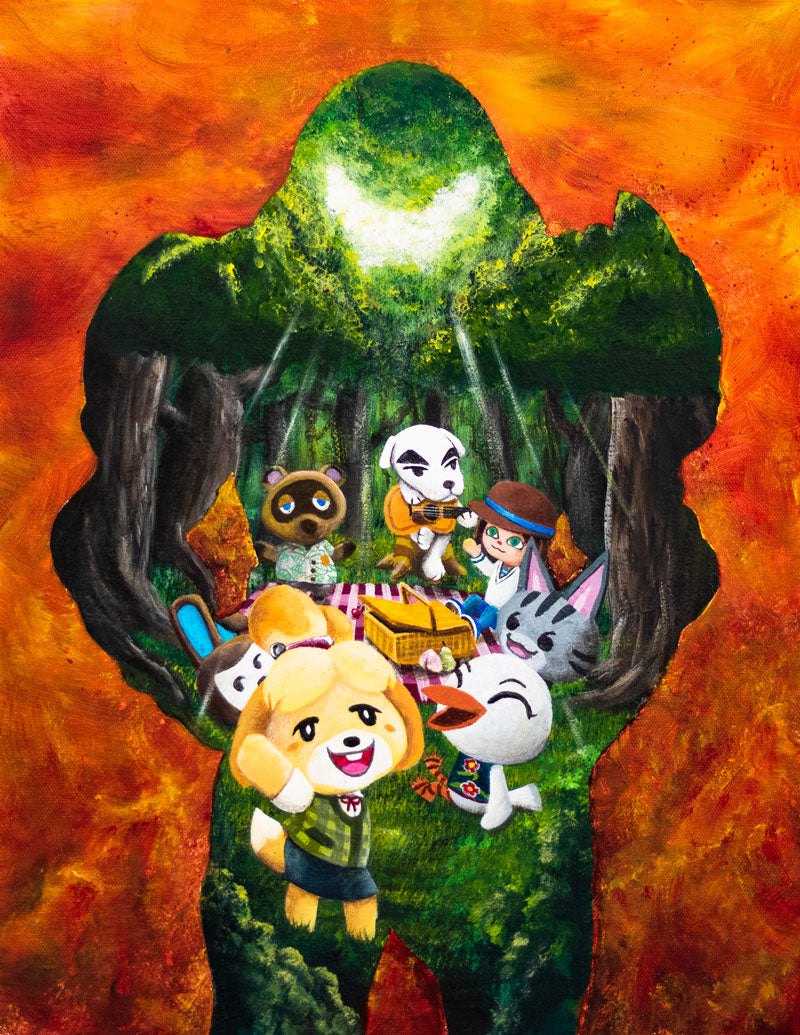 Animal Doom Crossing Eternal - High-resolution PDF