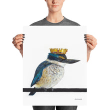 King Fisher - Matte Poster Print