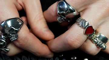 Find Your Rock n Roll Ring by Bikerringshop