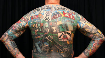 Cad iad na Tattoos is Fearr do Bikers?