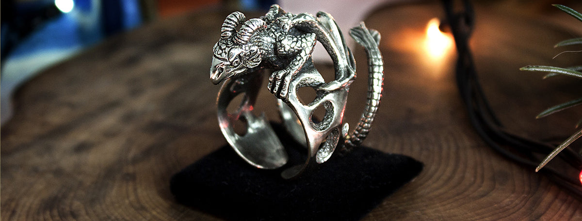 d4baa2ce9e879 Silver Dragon Rings: The History and Significance of the Dragon