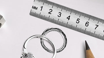 How to measure ring sizes
