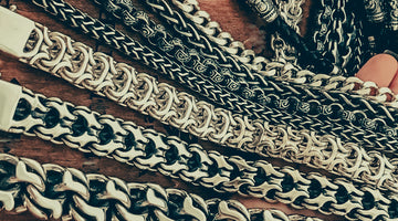 Men's Necklaces: Weave Types, Designs, and Materials
