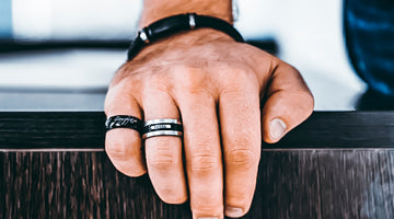 Black Onyx Rings for menn og deres fordelaktige natur