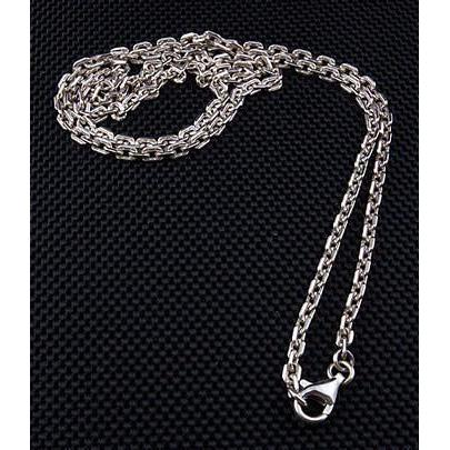 Catena per collana in argento sterling 2mm per pendente