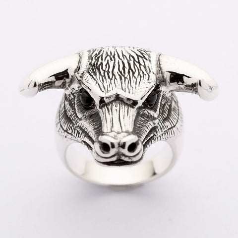 Sterling zilveren Taurus Ring