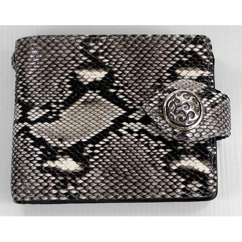 genuine cobra snake skin leather wallet