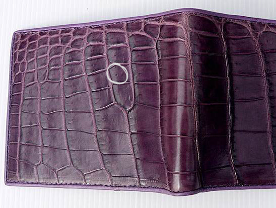 da591194ced Both crocodile and alligator skins are soft and pliable. If a product you  hold in your hands has a rough
