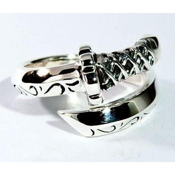 Japanese sword ring