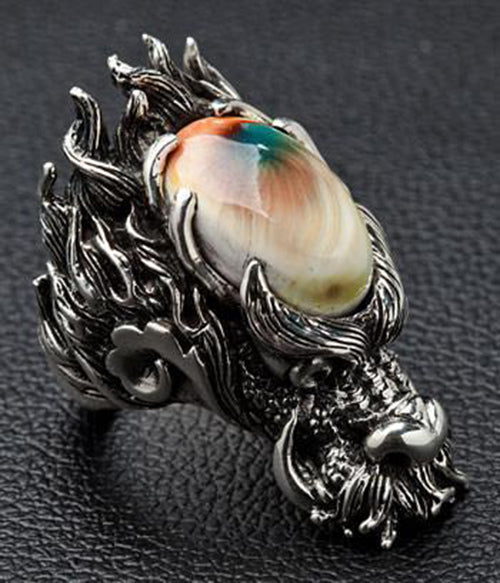 bague dragon badass