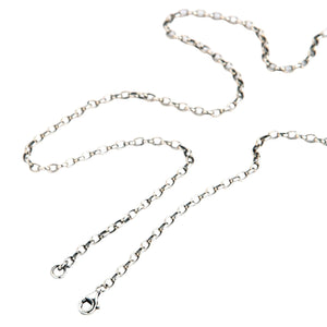 silver chain for pendant