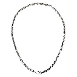 6mm sterling silver necklace
