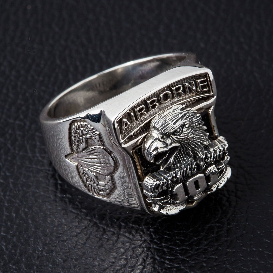 Eagle Airborne Army Ring