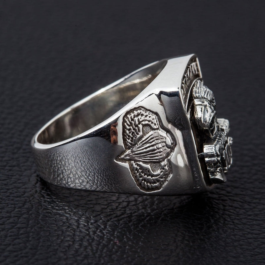 Army Eagle Airborne Ring