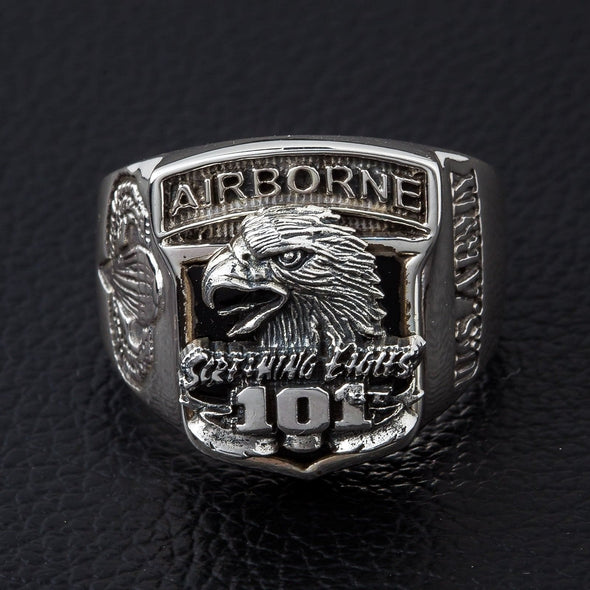 Army Eagle Airborne Ring-Bikerringshop