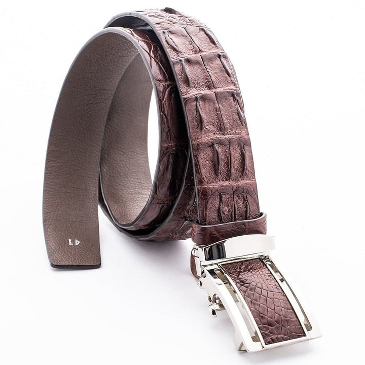genuine backbone alligator belt