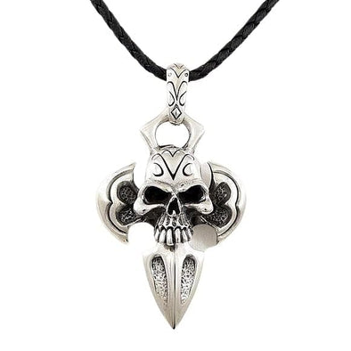 Big Skull Pendant Necklace